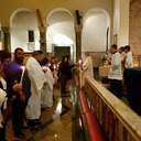 RCIA Candidates at Easter Vigil 2016